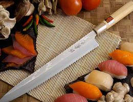 Как правильно заточить японский нож для суши