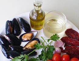 Рецепт салата из мидий с рисом