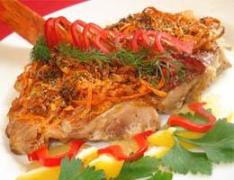 Как запечь морского окуня в духовке - рецепт
